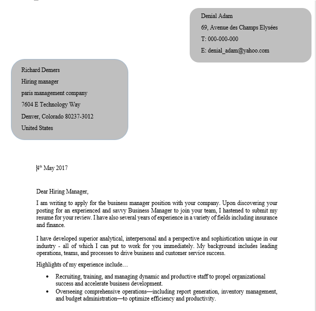it consultant cover letter business service vepub