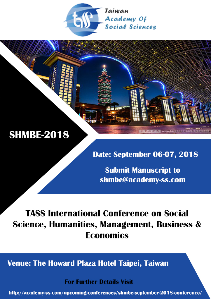 Tass International Conference on Social Science, Humanities, Management, Business & Economics