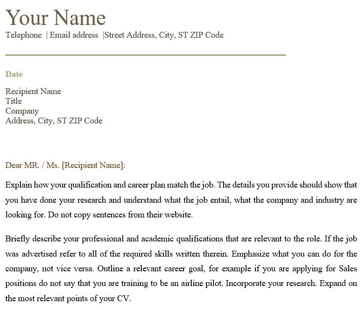 Air Traffic Controller Cover Letter | Business Service | Vepub